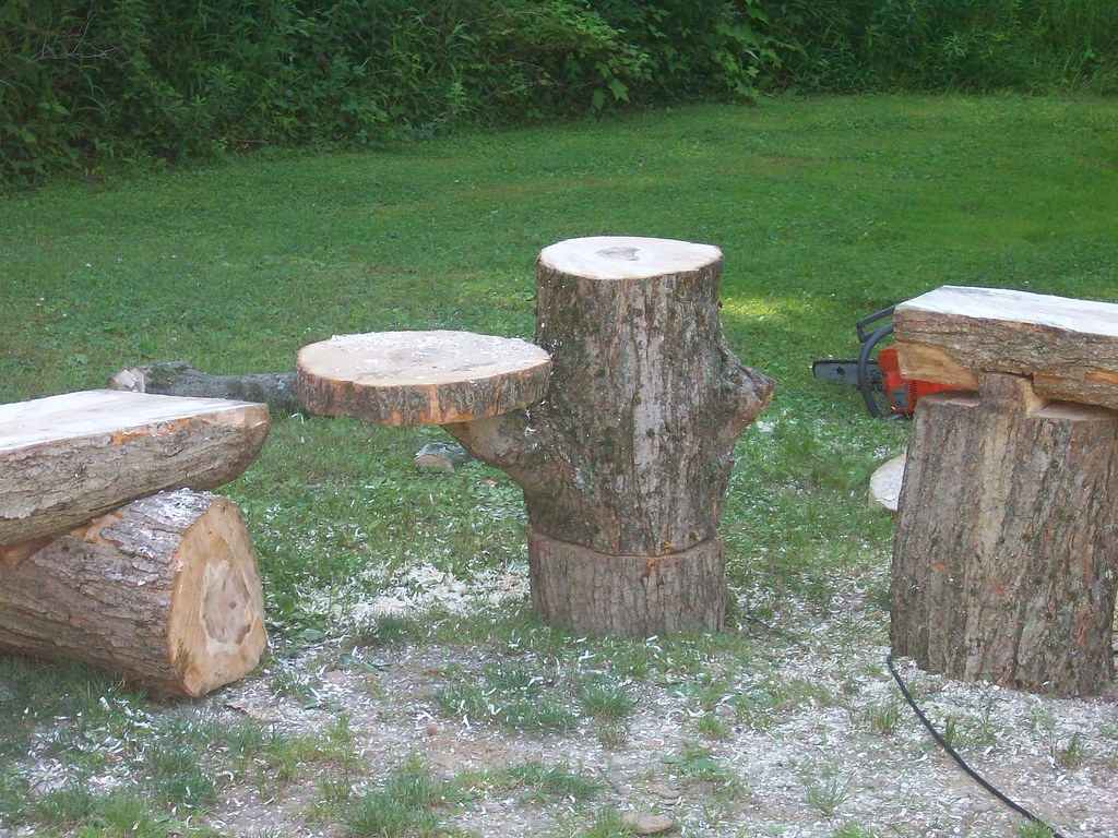 Chainsaw benches images bench log cabins