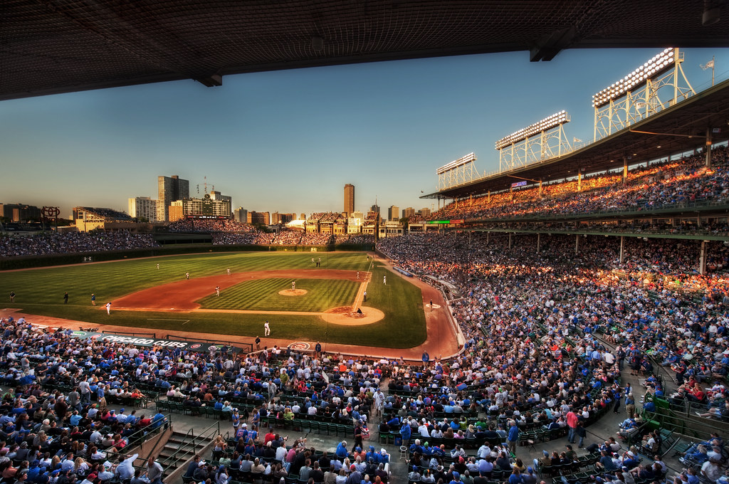 Golden Hour from The Friendly Confines