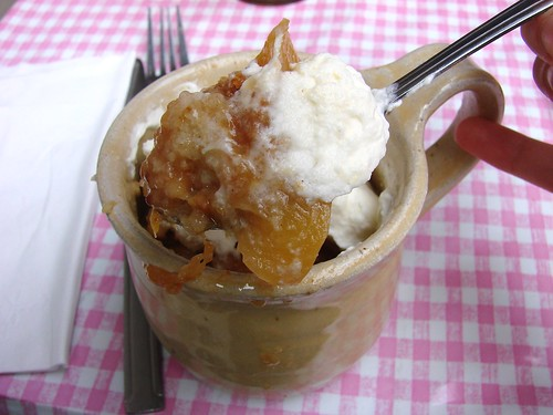 Peach Cobbler from Pies and Thighs
