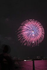 第23回東京湾大華火祭 青散華紅煌星