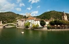 Dolceacqua (www.andreaalbertino.com) Tags: italy castle river landscape liguria wideangle brigde dolceacqua sigma1020 mygearandmepremium andreaalbertino