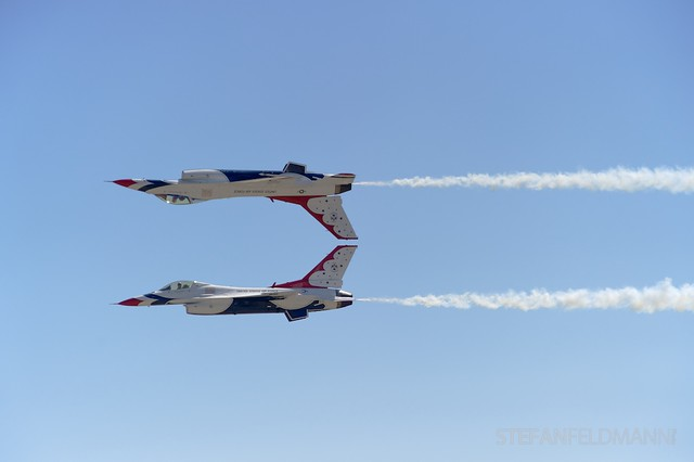 Thunderbirds at Abbotsford International Airshow 2010