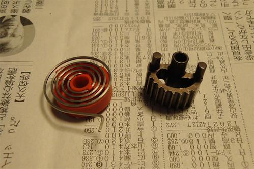 Sram Doubletap lever dismantle 21