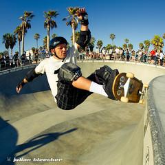 Sunday August 15 17:45 (JulianBleecker) Tags: california people sport losangeles unitedstates skateboarding skatepark skateboard northamerica venicebeach sk8 skateboarder 16mmf28 iso220 centerweightedaverage davidfowler veniceskatepark venicebeachskatepark secatf95 georgewilsonzpig