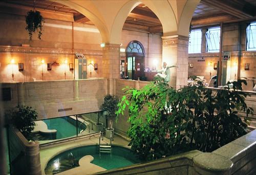 Porchester Spa interior