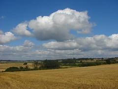 Brightlingsea (Chris Petty) Tags: uk summer england sky ford nature clouds coast lane fields essex 2010 wivenhoe brightlingsea slightlycropped rivercolne alresfordcreek