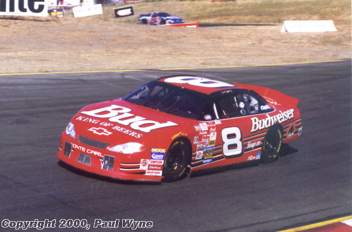 Five Races In 1999 And The Full Schedule Starting 2000 This Also Marked First Time Budweiser Added Any Color To Their Cars Since Late 1980s