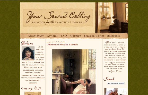 Your Sacred Calling Design