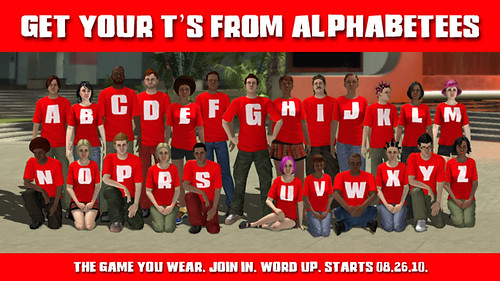 Alphabetees in PlayStation Home for PS3
