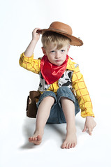 Grumpy cowboy by Brockley Tim, on Flickr