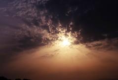 god (Moon over Belgium) Tags: sunset sky sun portugal clouds god