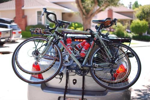 Bike trip day one