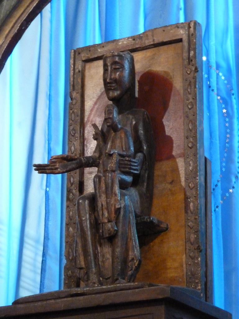 La vierge noire Notre-Dame de Belloc a Dorres 5