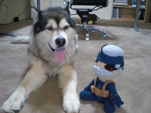 Thor with Old Snake Sackboy