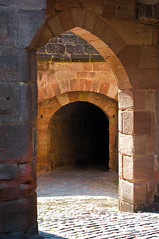Nuremberg Castle archway