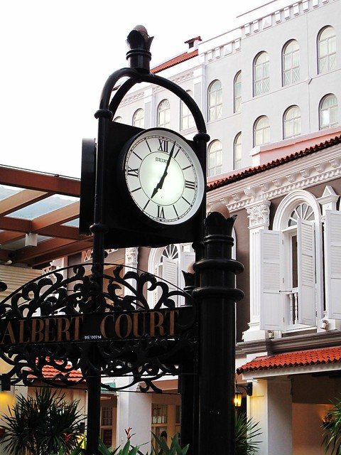IMG_9916 The Clock at Albert Court , Singapore