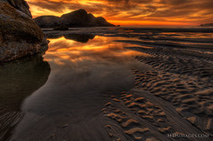 Tidal pools along the Oregon Coast.jpg (MDSimages.com) Tags: ocean travel oregon landscape pacificocean coastal oregoncoast westcoast hdr travelphotography michaelsteighner mdsimages