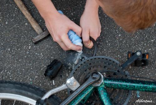 Romper un candado de bici
