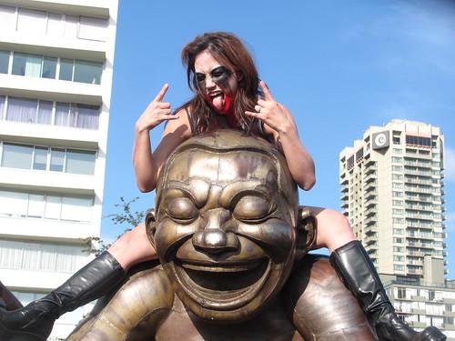 Zombiewalk 2010 in Vancouver