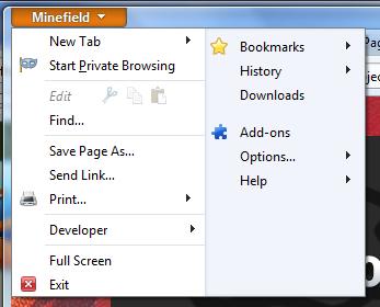 The Firefox Menu – Pogovor