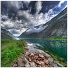 Laerdalsfjorden (Mariusz Petelicki) Tags: sky norway clouds norge scandinavia fiord hdr niebo 3xp norwegia skandynawia laerdalsfjorden vertorama mariuszpetelicki