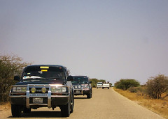 11c. The entourage following me in to Garowe