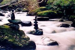 River Towers & Fluffy Water (ir0ny) Tags: art rock pebbles pebble landart pebblebalancing