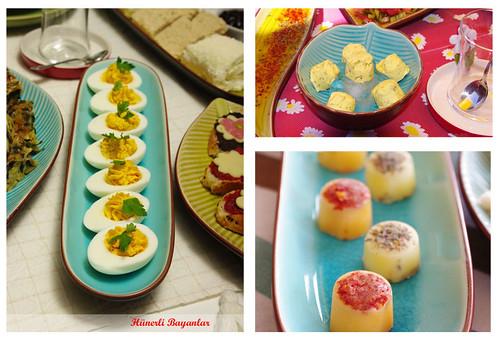 Baharatlı Tereyağ - Baharatlı Haşlanmış Yumurta