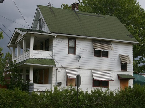Boyhood home of Frankie Yankovic - CONDEMNED