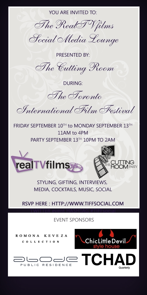 RealTVfilms Social Media Lounge presented by The Cutting Room