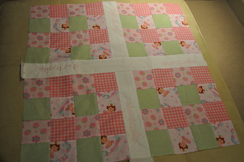 Strawberry Shortcake Quilt top