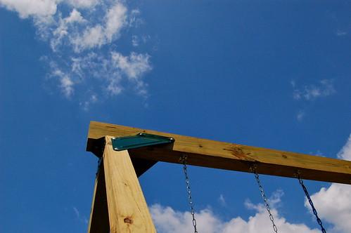 Backyard Swing Set