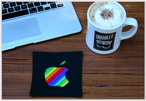 Apple iMat Coffee Coaster