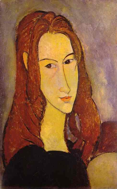 Amadeo Modigliani, Portrait of a Girl, 1917-18