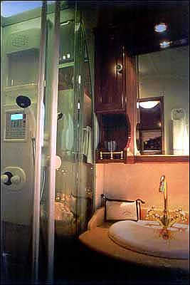 El Transcantabrico - Spanish luxury train, attached bathroom