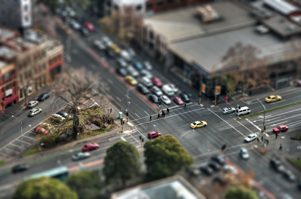 Tilt-Shifted Perspective