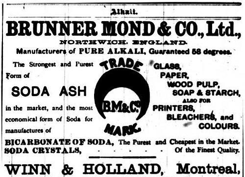Vintage Ad #1,183: Brunner Mond