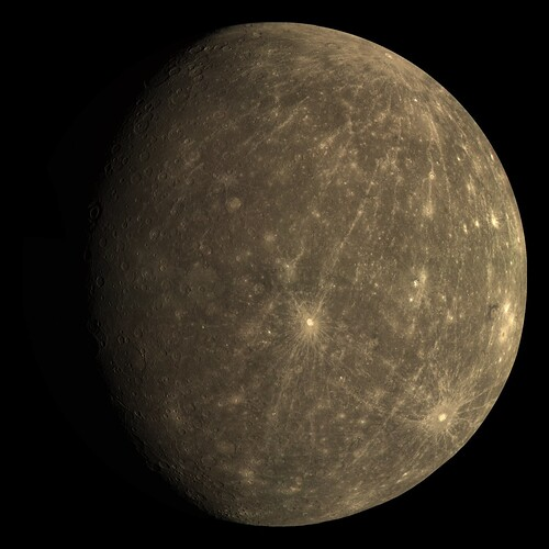 Mercury the Planet Real Color (page 2) - Pics about space