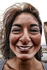 Sonrisa de carbn (Carlos F1) Tags: portrait smile spain nikon funny retrato gijn asturias veronica ami sonrisa vero principado verito d300 gracioso xixn