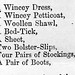 List of items Elisabeth Clark Scott was accused of stealing on the 2nd day of January 1872.