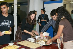 Sharing Iftar meal