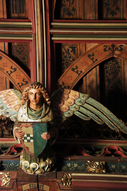 Angel in Banqueting Hall