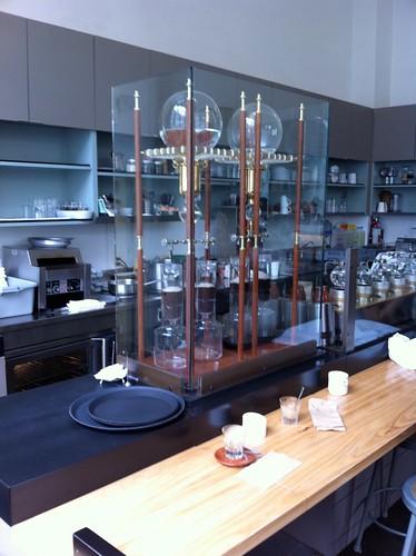 Blue Bootle Café (j'veux une machine comme ça!)