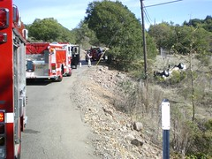 Vehicle Accident, Bennett Valley Rd. (BVFD) Tags: bennettvalley vehicleaccident
