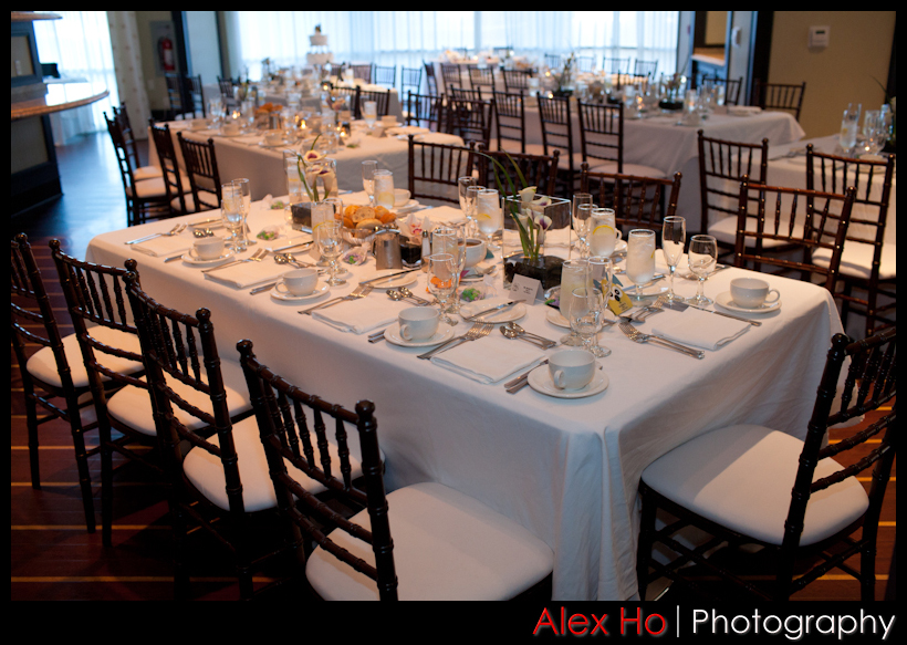 hotel accor redwood city peninsula wedding reception dinner