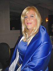 transgender wig tranny transvestite gowns satin transgendered