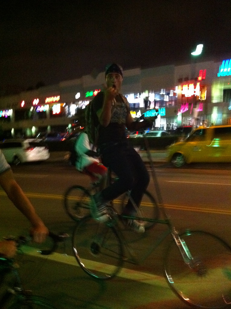 Tall Bike Riding LACM