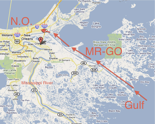 MR-GO New Orleans