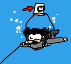 ダイビングの写真失敗の理由