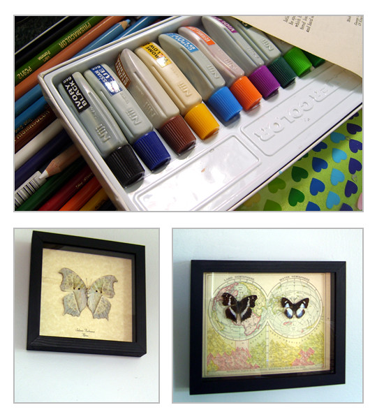 paints & butterflies